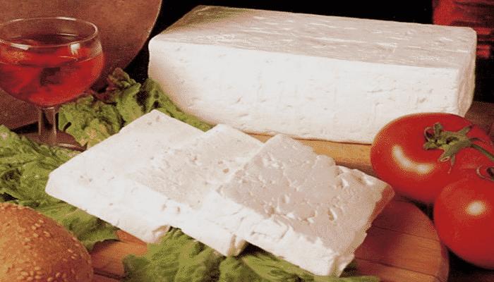 variedades de queso de vaca
