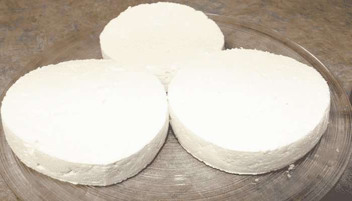 Manera de hacer queso de vaca fresco sin moldes