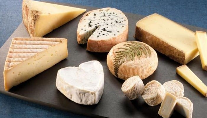 Origen de los quesos franceses