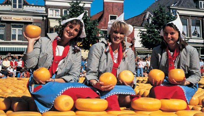 La historia del queso holandés