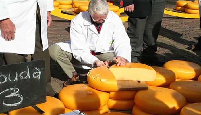 La producción de los quesos en Holanda