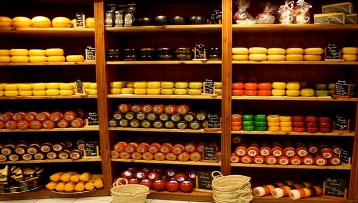 Большинство названных голландских сыров