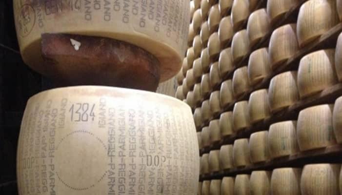 Relevancia de los quesos italianos