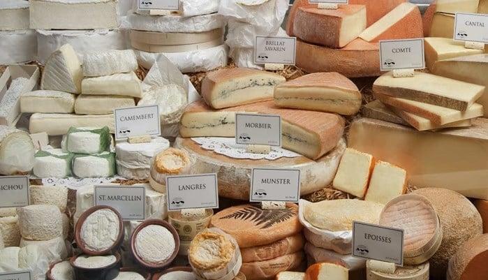 Tipos de quesos argentinos más consumidos