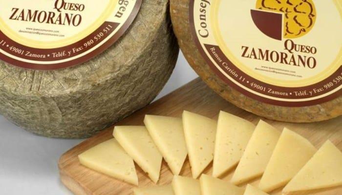 Producción de leche dre queso zamorano