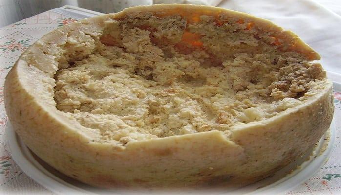 Característica del queso Marzu