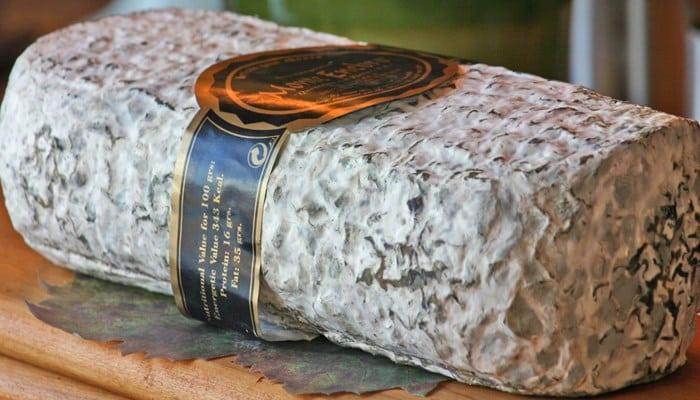 Información nutricional del queso Montenebro