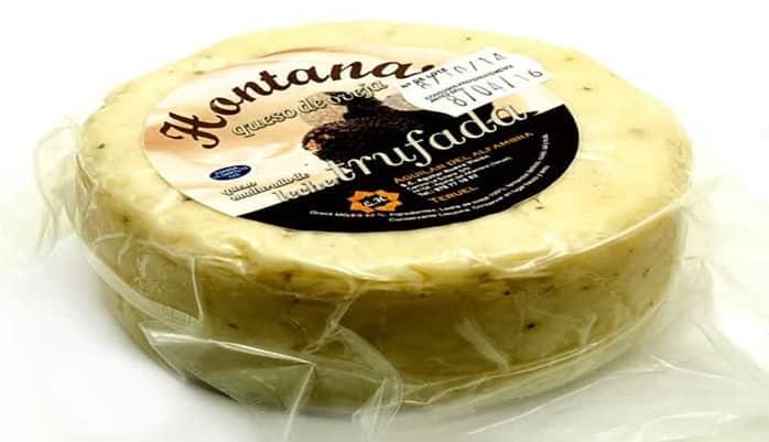 Principales tipos de quesos trufados